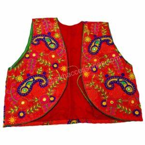 Buy Red Phulkari Jacket Online