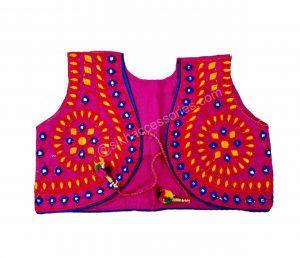 Buy pink phulkari jacket online