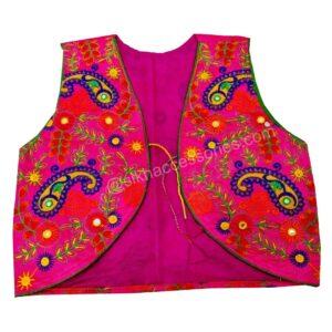 Buy Yellow Phulkari Jacket Online