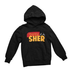 Buy Unisex Black Hoodie Full Sleeve Online