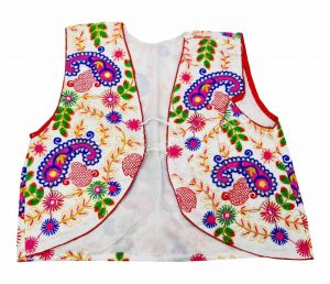 Buy White Phulkari Jacket Online