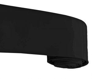 Buy Jet Black Full Voile Turban Online