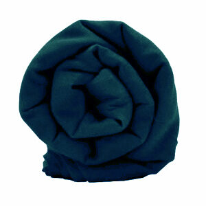 Buy Peacock Blue Rubia Voile Turban Online