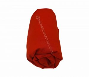 mithat bright red turban